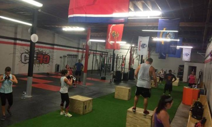 Crossfit First Creek - Knoxville: One Month of Unlimited CrossFit Classes from CrossFit First Creek (51% Off)