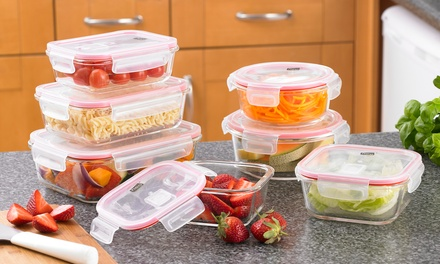 Neo 14Piece Glass Food Storage Container Set