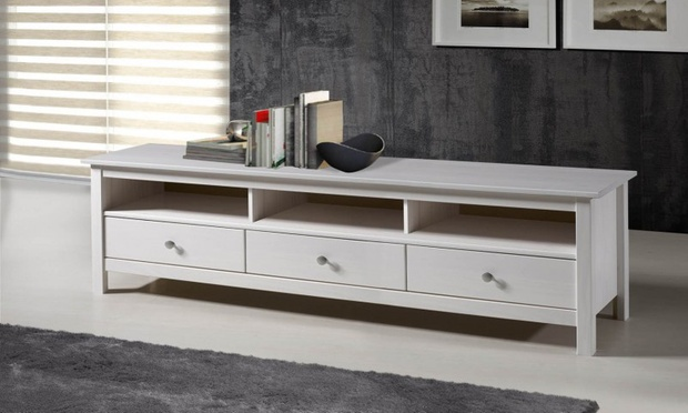 table basse ou meuble tv groupon shopping. Black Bedroom Furniture Sets. Home Design Ideas