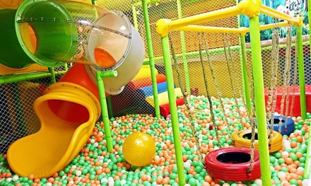 Indoor Play Visit for One or Two Children at Q Star Play & Party (Up to 40% Off). Four Options Available.