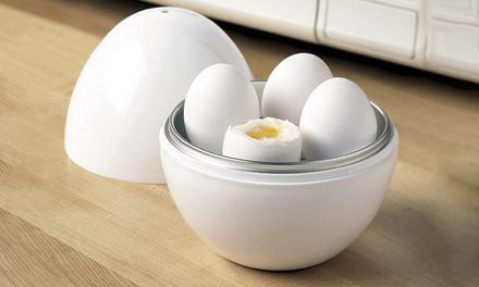 1, 2 o 3 calderas de huevos para microondas