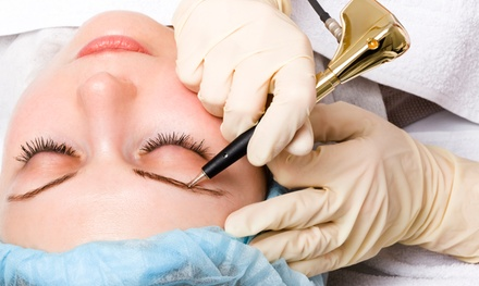 Permanent Makeup for the Eyebrows or Eyeliner at Laura Jambrosic – Permanent Makeup (Up to 50% Off)