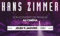 """1 place pour Hans Zimmer """"Live in Prague"""" le 11 janvier 2018 à 6,50 € au cinéma Gaumont Multiplexe ou Gaumont Comédie"""