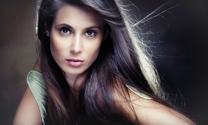 Salon Ciseaux - Winter Park: Haircut with a MoroccanOil Treatment or Haircut with Partial or Full Highlights at Salon Ciseaux (Up to 56% Off)