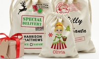 Personalized Christmas Santa Sacks (Up to 75% Off)