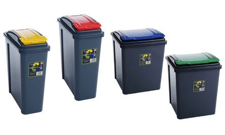 One, Two or Four 25L or 50L Recycle Bins