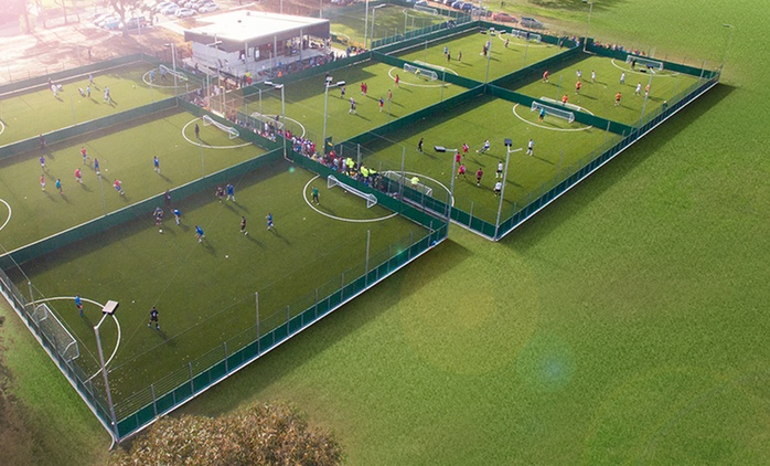 All-Weather FIFA Grade 5-a-Side Pitch Hire - One Hour ($49) or 90 Minutes ($69) at Ultimate Soccer (Up to $140 Value)