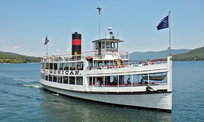 Lake George Steamboat Company - Lake George: Paradise Bay Cruise from Lake George Steamboat Company (Up to 39% Off). Two Options Available.