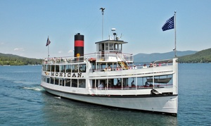 Lake George Steamboat Company: Paradise Bay Cruise from Lake George Steamboat Company (Up to 39% Off). Three Options Available.