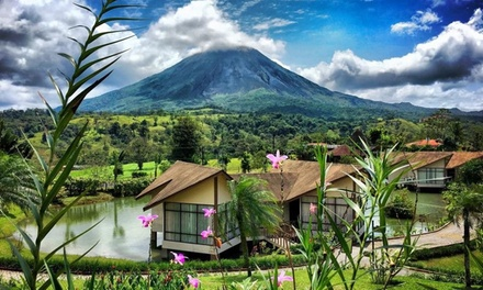 2-, 3-, or 4-Night Stay for Two at Montaña de Fuego Resort & Spa in La Fortuna, Costa Rica. Combine Up to 16 Nights.