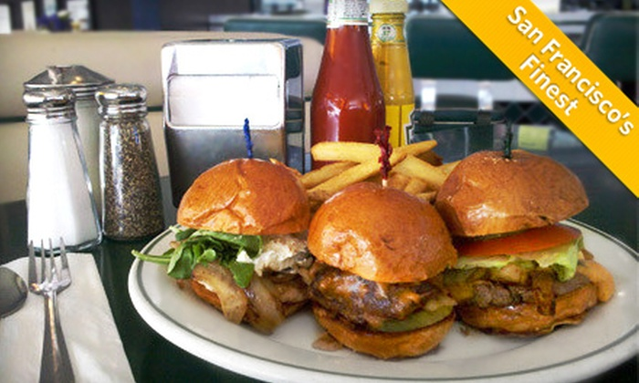 Mel's Drive-in - Multiple Locations: All-American Diner Food at Mel's Drive-In (Up to 52% Off). Two Options Available and Four Locations.