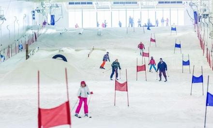 4 uur skiën of snowboarden bij Skidôme in Rucphen of Terneuzen