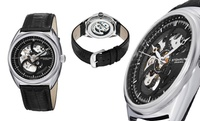 GROUPON: Stührling Original Men's Automatic Skeleton Watch Stührling Original Men's Automatic Skeleton Watch