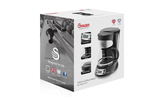 Swan Programmable Coffee Maker Groupon Goods