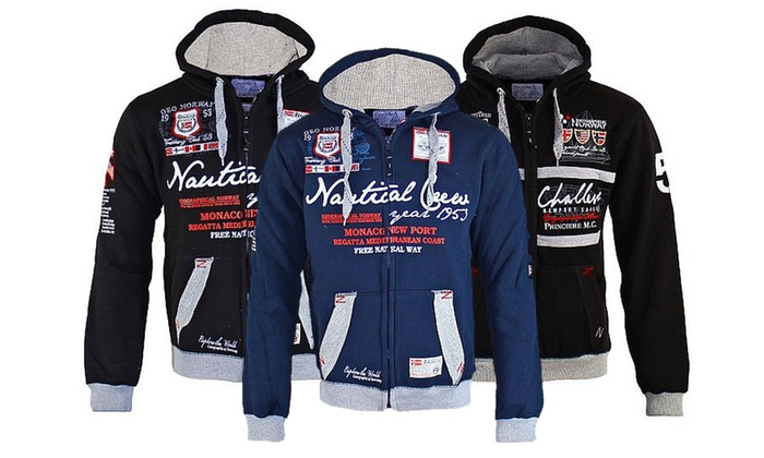 Geographical Norway Hoodie Jacke | Groupon Goods