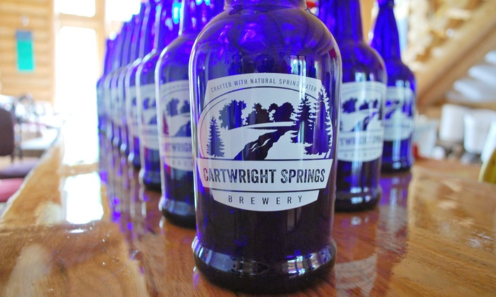 Cartwright Springs Brewery - Cartwright Springs Brewery: Brewery Tour and Tasting with Beer Ice Cream Floats for 2 or 4 at Cartwright Springs Brewery (Up to 48% Off)