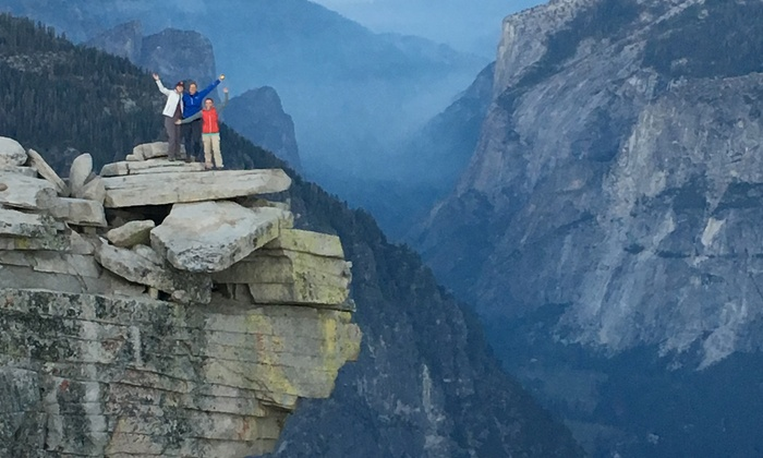 Treks and Tracks - Yosemite Valley, CA: 2-Day Backpacking Trip in California or Washington or 3-Day Survival Course in Yosemite for One from Treks and Tracks