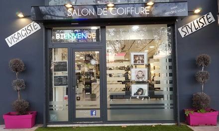 Shampoing, coupe et brushing, option couleur, mèches ou balayage dès 24 € au salon Style Coiffure