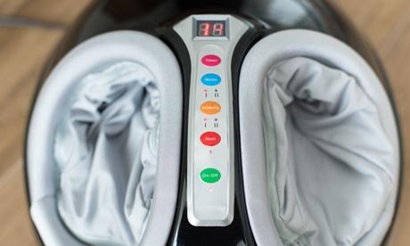 Masajeador de pies Eco-De con sistema Shiatsu y presoterapia