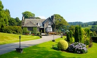 Lake District: 1 Night for Two with Breakfast, Four-Course Dinner and Spa Access at 5* Broadoaks Country House