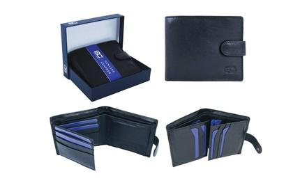 Adam Carter RFID Leather Wallet