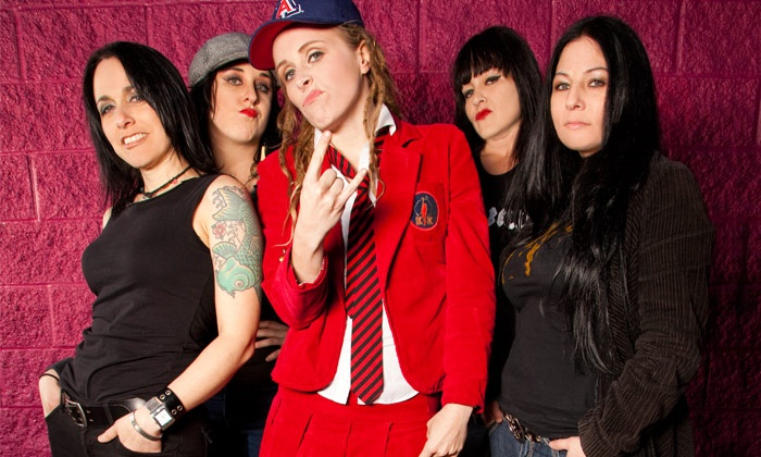 Hell's Belles - Gothic Theatre: Hell's Belles — AC/DC Tribute on Friday, June 24, at 9 p.m.