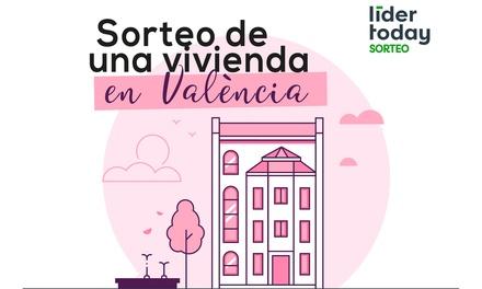 Paga 1€ por un descuento de 2€ en boletos para entrar en el sorteo de una vivienda en Valencia con Grupo Líder Today