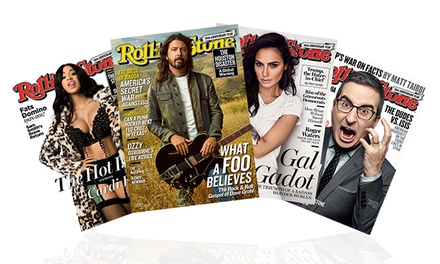 1-Year Print Subscription with Optional Digital Subscription to Rolling Stone Magazine (Up to 51% Off)