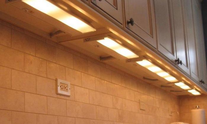 Amazing Rite Lite Hi Output Wireless Motion Sensor Led Under Cabinet Download Free Architecture Designs Lukepmadebymaigaardcom