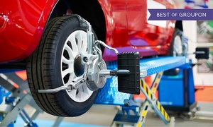 OK TIRE 99 ST: CC$39 for Wheel-Alignment Service at OK Tire (CC$129 Value)