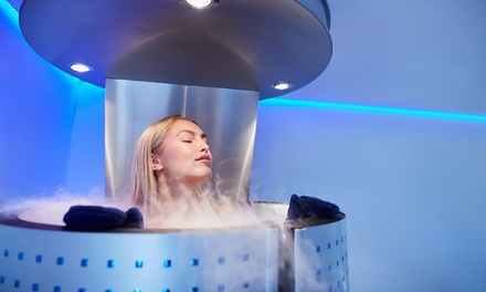 One or Three Whole-Body Cryotherapy Sessions at Cryology (Up to 24% Off)