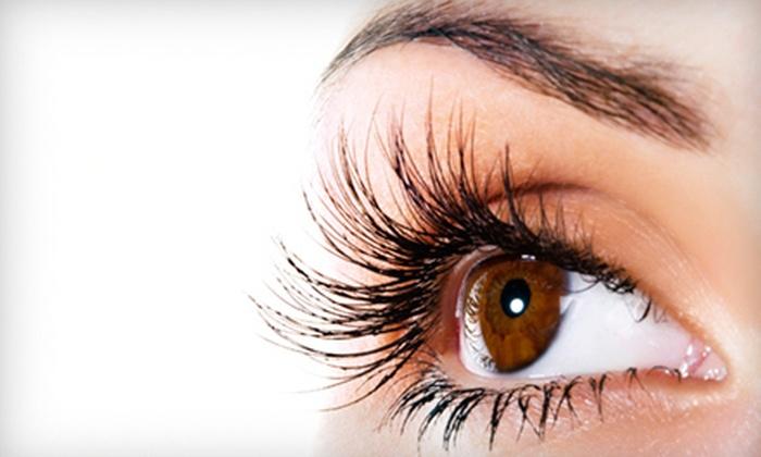 [NV] Salon - Gahanna: $59 for a Full Set of Eyelash Extensions at [NV] Salon in Gahanna (Up to $125 Value)