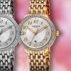 Buy 1 Get 1 Free: Akribos XXIV Women's Date Dial Watches Made with Swarovski Elements