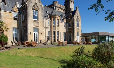Loch Fyne: Garden View Room for Two with Breakfast and Optional £40 Food & Beverage Credit at 4* Stonefield Castle Hotel