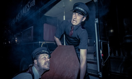 Edinburgh Ghost Bus Tour for Child, Adult or Family of Four with The Ghost Bus Tours