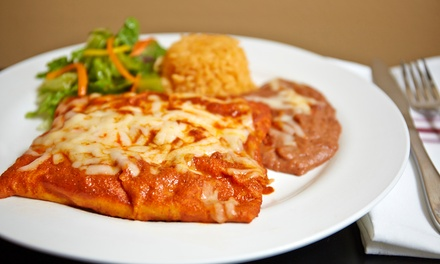 $12 for Four Groupons, Each Good for $5 Worth of Mexican Food at Taqueria y Panaderia Guadalajara ($20 Total Value)
