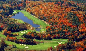 Crumpin-Fox: 18 Holes with Cart, Range Balls, and Clubhouse Food Credit for Two or Four at Crumpin-Fox
