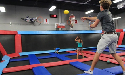 One 60-Minute Jump Session and Two Attractions at Defy Gravity (Up to 43% Off)