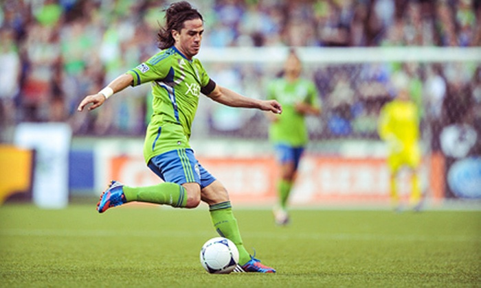 Seattle Sounders FC vs. Real Salt Lake - CenturyLink Field: $17 for Seattle Sounders FC Match Against Real Salt Lake at CenturyLink Field on October 17 at 7 p.m. (Up to 34 Value)