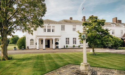 Oxfordshire: Double or Superior Room with Breakfast and TwoCourse Dinner at Milton Hill House