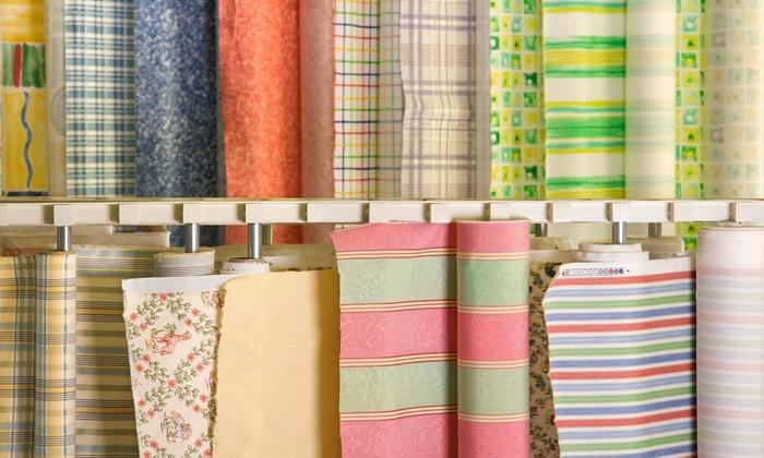 Aiden Fabrics - Mount Pleasant: $46 for $80 Worth of Fabric — Aiden Fabrics