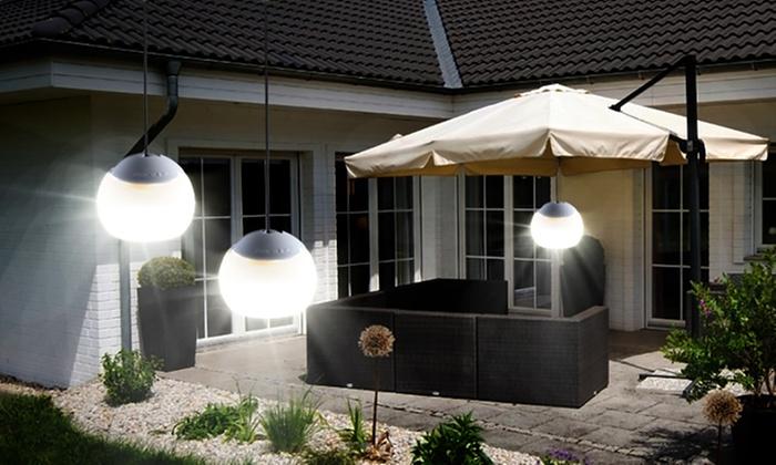 2 4 lampes suspendues flexibles groupon shopping for Lampe exterieur a suspendre