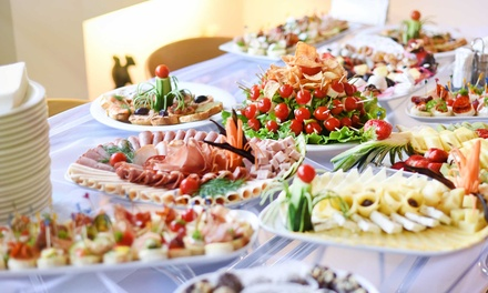 Buffet with Soft Drinks for Up to 12 at 5* Citrus - Corniche Hotel Abu Dhabi (Up to 56% Off)