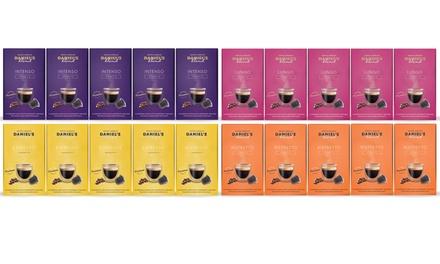 Pack de 100 cápsulas de café compatibles con máquinas Nespresso
