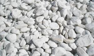 MGF Stone: Un sac de galets décoratifs en blanc, gris bleu ou noir mat, dès 9,90 € chez MFG Stone