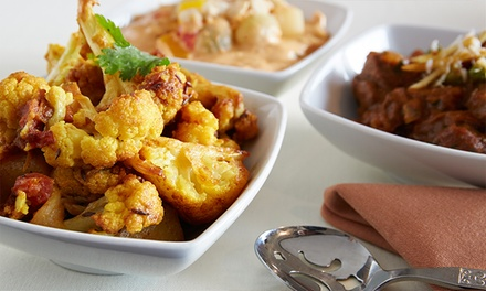 Two-Course Indian Meal for Two at The Blue Elephant (Up to 31% Off)