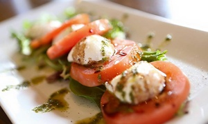 Rozafa Mediterranean Bistro: Mediterranean Lunch or Dinner Cuisine for Two at Rozafa Mediterranean Bistro(40% Off)