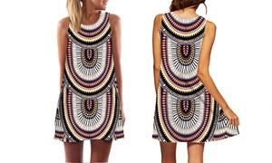Robe femme imprimé Aztèque