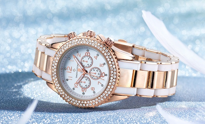 Orologio Timothy Stone con cristalli di Swarovski® in 6 colori a 29,90 € con spedizione gratuita (77% di sconto)