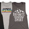 Women's Summer Camping Muscle Tees
